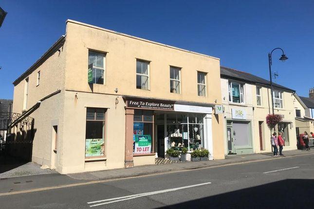 Retail premises to let in Prime Lock-Up Shop, 17A High Street, Cowbridge