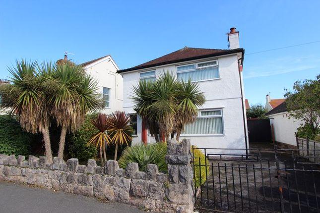 Thumbnail Detached house for sale in Trafford Park, Penrhyn Bay, Llandudno