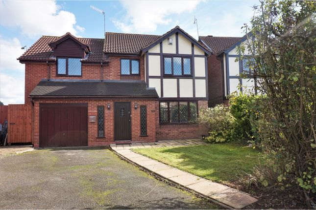 Thumbnail Detached house for sale in Avon Close, Bromsgrove