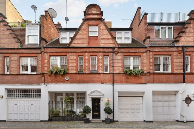 Thumbnail Terraced house for sale in 6, Holbein Mews, Chelsea