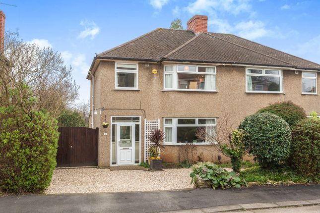 Thumbnail Semi-detached house for sale in Dentwood Grove, Bristol