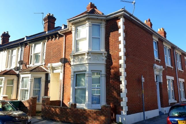 Thumbnail Terraced house to rent in Britannia Road North, Southsea
