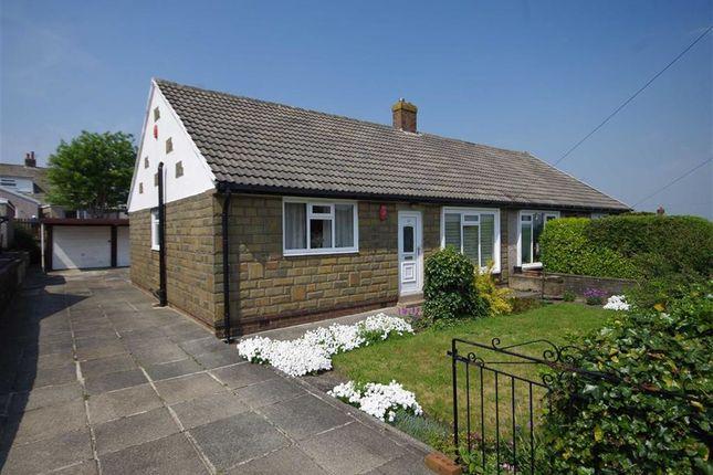 Thumbnail Semi-detached bungalow for sale in Broadley Avenue, Moorend Road, Halifax