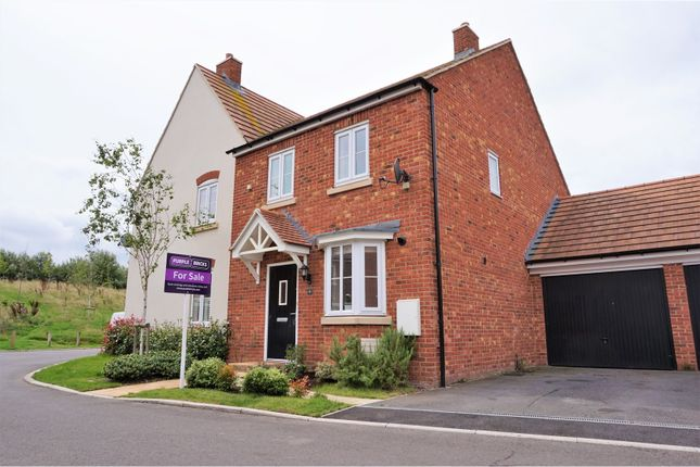 Thumbnail Semi-detached house for sale in Roman Fields, Chilton
