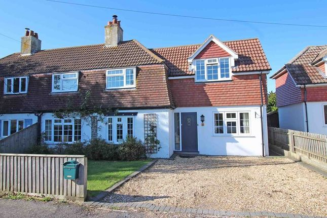 Semi-detached house for sale in Lawn Road, Milford On Sea, Lymington, Hampshire