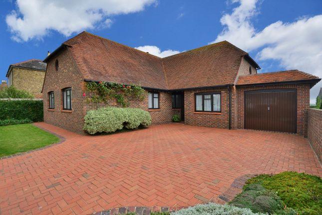 Thumbnail Detached bungalow for sale in Dover Road, Sandwich