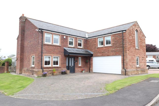 Thumbnail Detached house for sale in Grinsdale, Carlisle