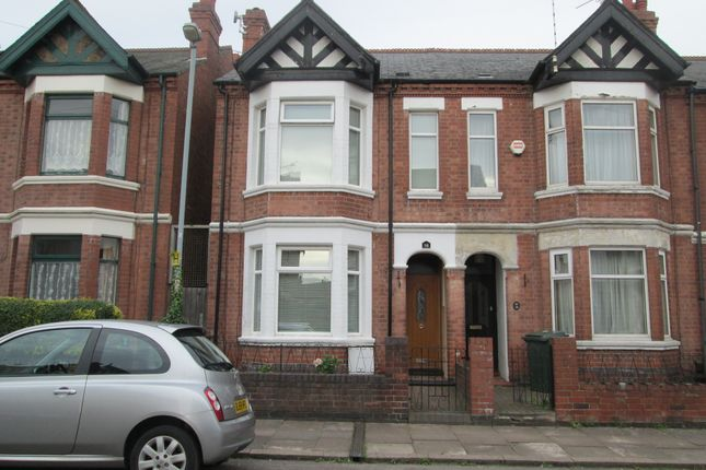 Thumbnail End terrace house to rent in Raleigh Road, Coventry