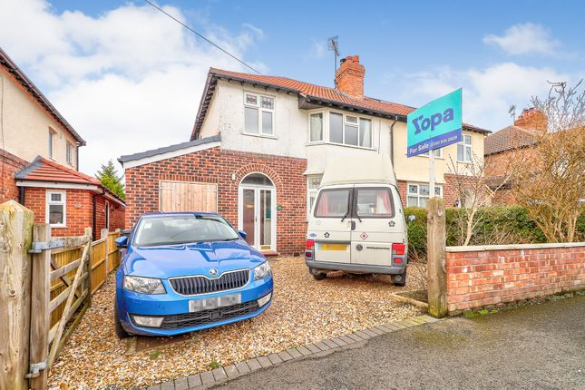 Thumbnail Semi-detached house for sale in Newton Lane, Chester