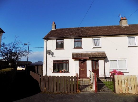 Thumbnail End terrace house to rent in Eglantine Crescent, Lisburn