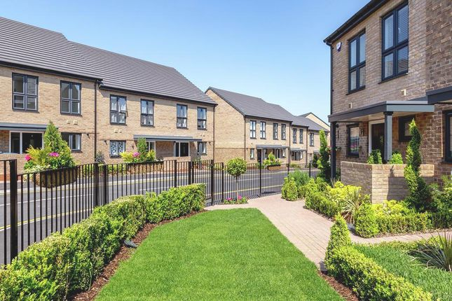 Thumbnail Terraced house for sale in The Allward At Atelier, Keaton Way, Off Commonside Road, Harlow, Essex