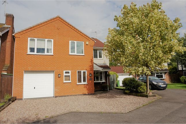 Thumbnail Detached house for sale in Hambleton Close, Leicester Forest East