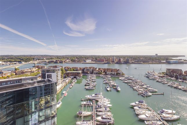 Thumbnail Flat to rent in The Moresby Tower, Admirals Quay, Ocean Way, Ocean Village, Southampton, Hampshire