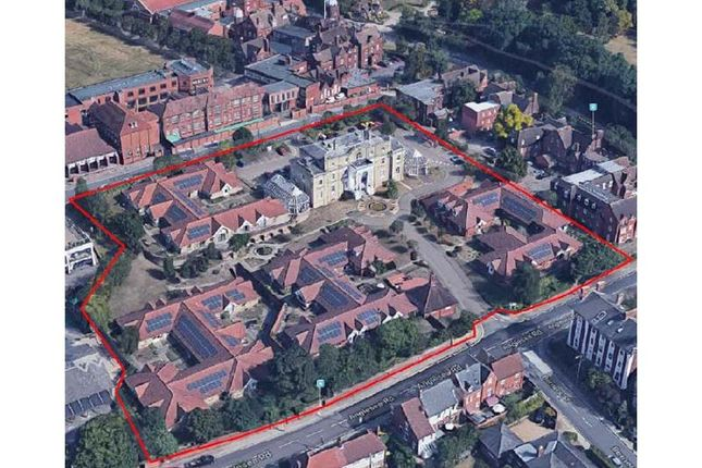 Thumbnail Land for sale in Former Anglesea Heights Care Home, Anglesea Road, Ipswich, Suffolk