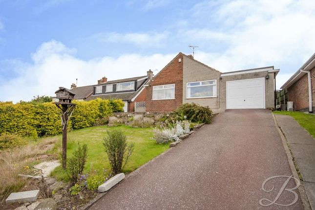 Bungalow for sale in Beck Crescent, Blidworth, Mansfield