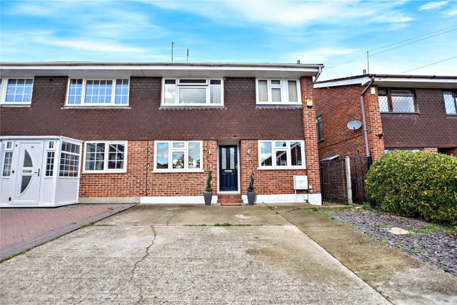 Thumbnail Semi-detached house for sale in Briar Road, Joydens Wood, Kent