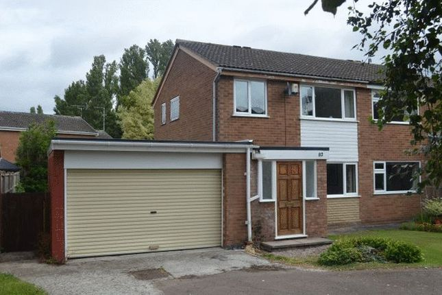 Thumbnail Semi-detached house to rent in Equity Road East, Earl Shilton, Leicester