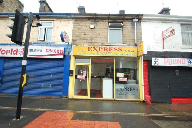 Thumbnail Restaurant/cafe for sale in Blackburn Road, Oswaldtwistle, Accrington