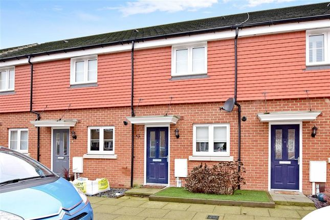 2 bed terraced house for sale in Eustace Crescent, Strood, Rochester, Kent