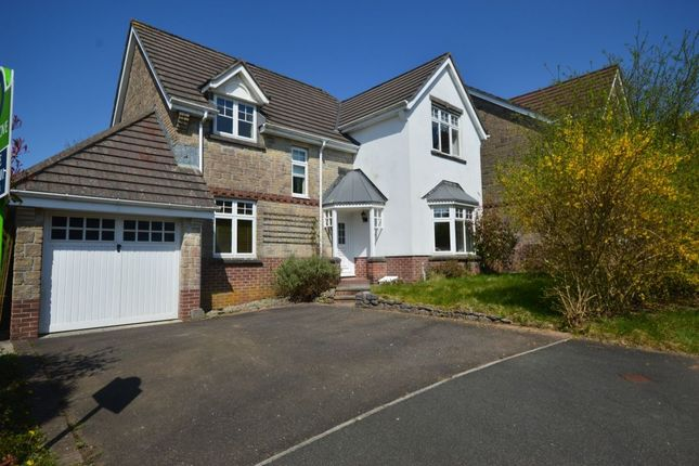 Thumbnail Detached house for sale in Morley Drive, Crapstone, Yelverton