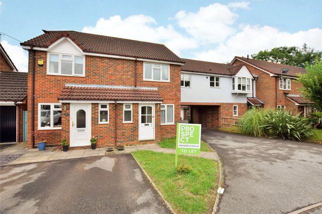 Thumbnail End terrace house to rent in Park Lane, Temple Park, Binfield, Berkshire