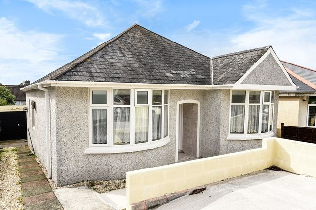 Thumbnail Detached bungalow for sale in Honicknowle Lane, Plymouth