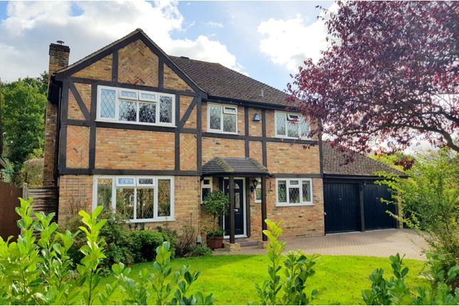 Thumbnail Detached house for sale in Henley Drive, Camberley