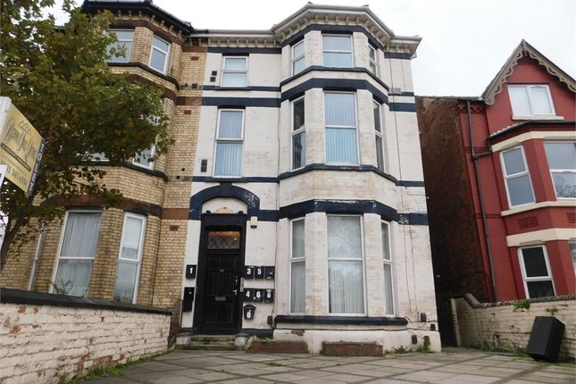 Thumbnail Flat to rent in Crosby Road South, Liverpool, Merseyside