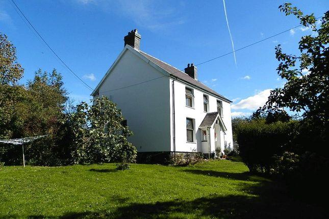 Thumbnail Farmhouse for sale in Bryn Tygwydd Capel Tygwydd, Cwm Cou, Newcastle Emlyn, Carmarthenshire.