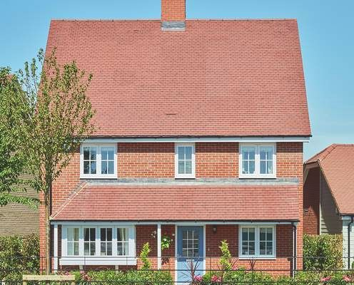 Thumbnail Detached house for sale in The Richmond At St Michael's Hurst, Barker Close, Bishop'S Stortford, Hertfordshire