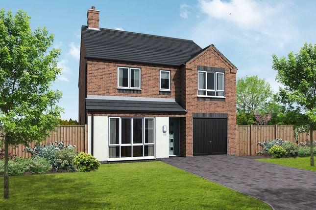 Thumbnail Detached house for sale in Plot 9 Repton, Coton Road, Rosliston, Swadlincote