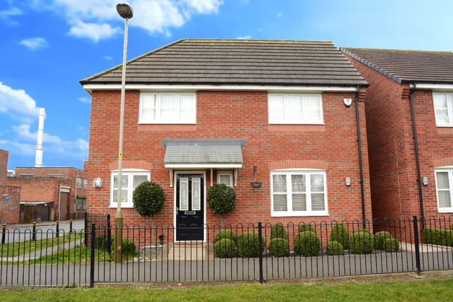 Thumbnail Detached house for sale in Dragonfly Walk, Aylestone, Leicester