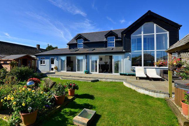 Thumbnail Detached house for sale in Capel Street, Capel-Le-Ferne, Folkestone