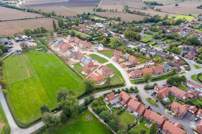Aerial (2) of Middle Lane, Thorpe-On-The-Hill, Lincoln LN6