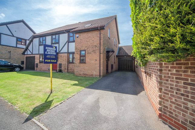 Thumbnail Semi-detached house for sale in Heritage Drive, Gillingham, Kent