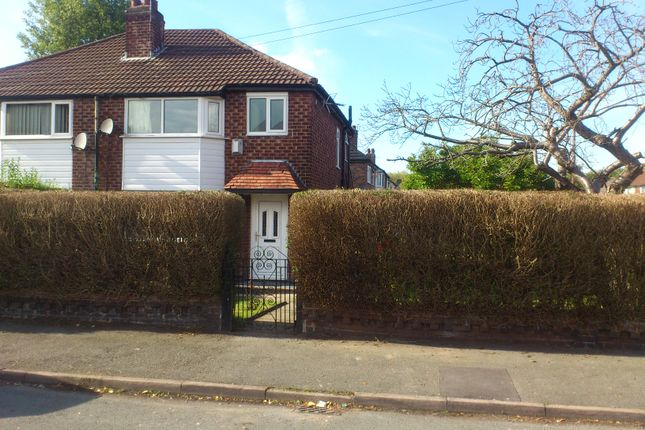 Thumbnail Semi-detached house to rent in Riverton Road, Didsbury