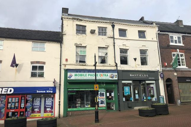 Thumbnail Retail premises for sale in 7, Ironmarket, Newcastle-Under-Lyme