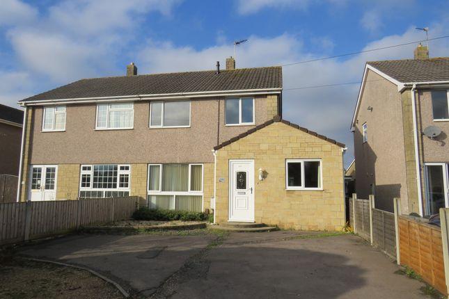 Thumbnail Semi-detached house for sale in Badminton Road, Coalpit Heath, Bristol