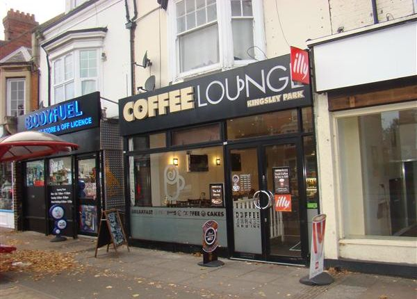 Thumbnail Commercial property for sale in The Coffee Lounge, 10&10A Kingsley Park Terrace, Northampton