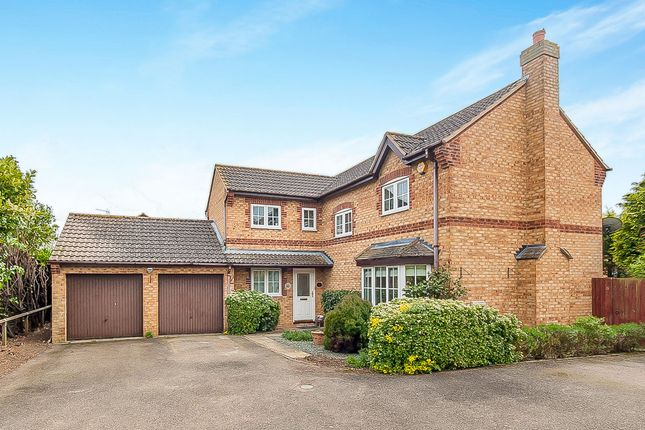 Thumbnail Detached house for sale in Newbold Close, Oundle, Peterborough