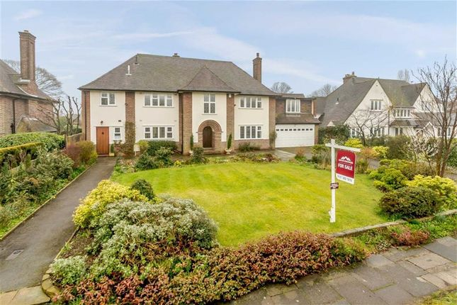 Thumbnail Detached house for sale in Wyvern Road, Four Oaks, Sutton Coldfield