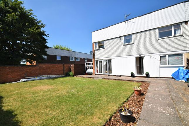 Thumbnail End terrace house for sale in Sandcroft, Sutton Hill, Telford