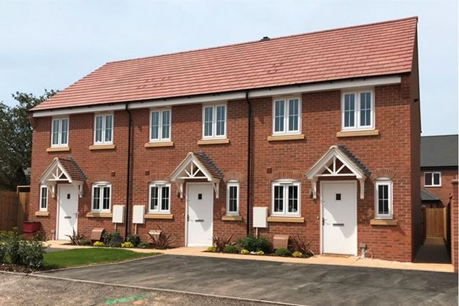 Town house for sale in 2, 4, 6 And 8, Shuttleworth Close, Castle Donington, Leicestershire
