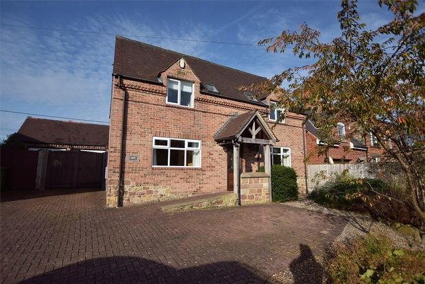 Thumbnail Detached house to rent in Ashbourne Road, Cowers Lane, Belper, Derbyshire
