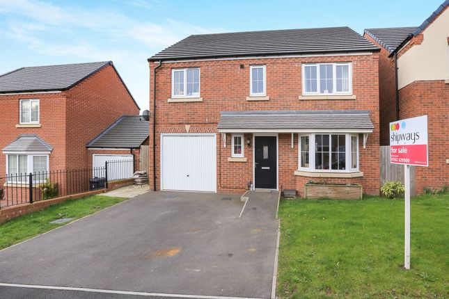 Thumbnail Detached house for sale in Butler Best Way, Kidderminster