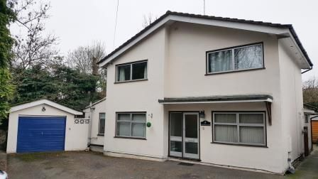 Thumbnail Detached house for sale in Woodpeckers, Ashford Road, Weavering, Maidstone, Kent