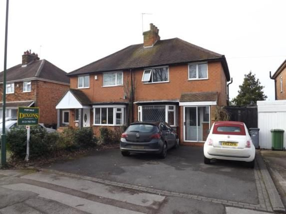 Thumbnail Semi-detached house for sale in Damson Lane, Solihull, West Midlands