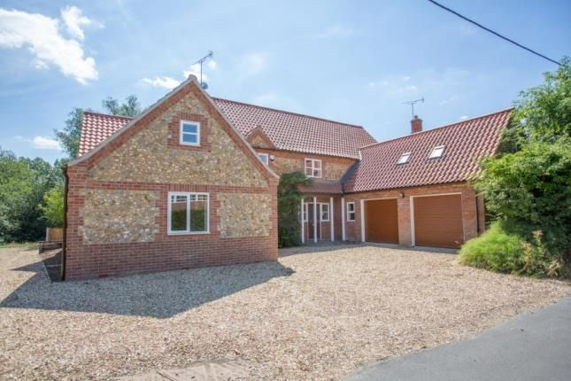 Thumbnail Detached house for sale in Litcham, King's Lynn