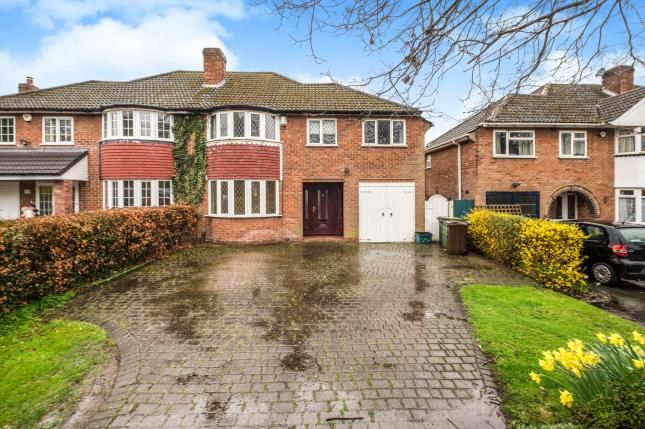 Thumbnail Semi-detached house for sale in Kineton Green Road, Solihull, West Midlands