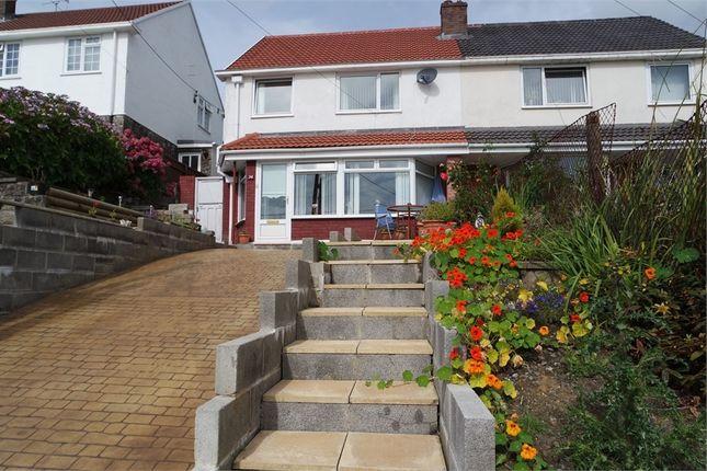 Thumbnail Semi-detached house for sale in Duffryn Madog, Nantyffyllon, Maesteg, Mid Glamorgan